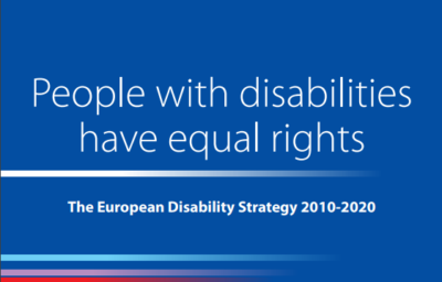 European Disability Strategy – Public Consultation: Have your say!