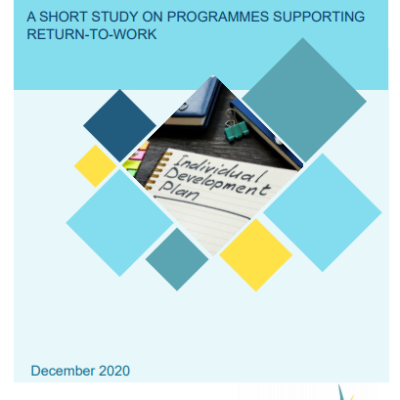 From Care To Employment: A Short Study On Programmes Supporting Return-To-Work