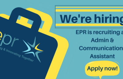 EPR is recruiting an Administration and Communication Assistant