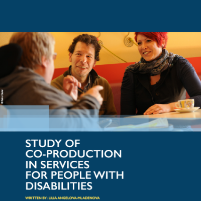 EPR study on co-production in services for people with disabilities