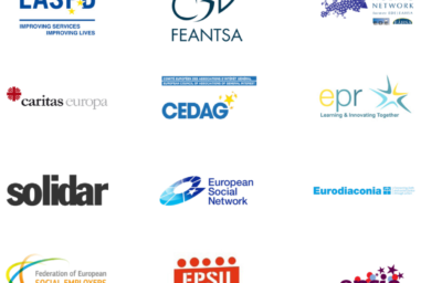 Joint Position Paper: COVID-19 and Social Services: What role for the EU?