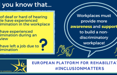 EPR's 2018 Online Campaign on Disability and Employment